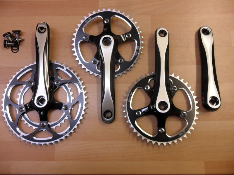 ORBIT TANDEMS Pluto tandem chainset click to zoom image