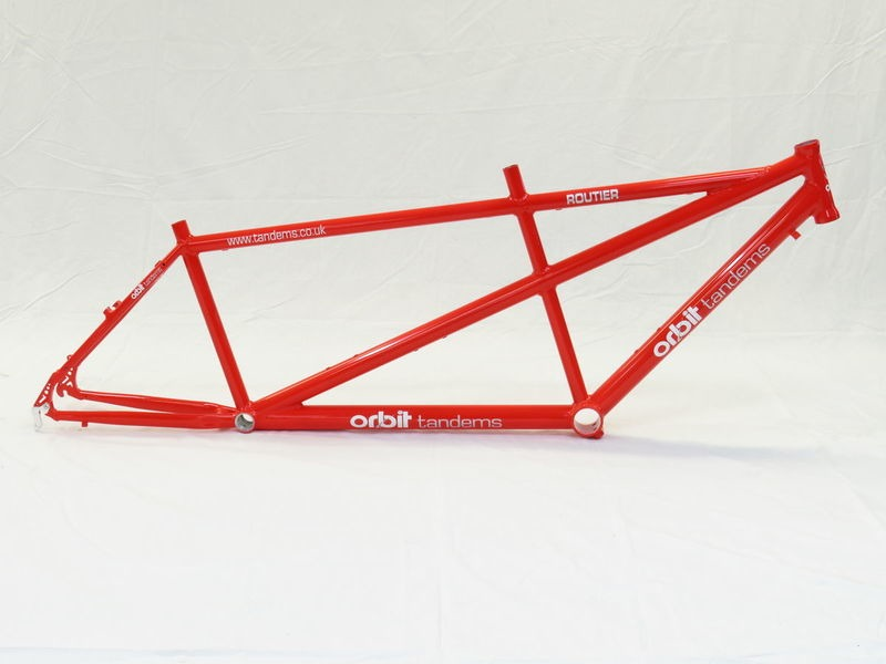ORBIT TANDEMS Frame Routier click to zoom image