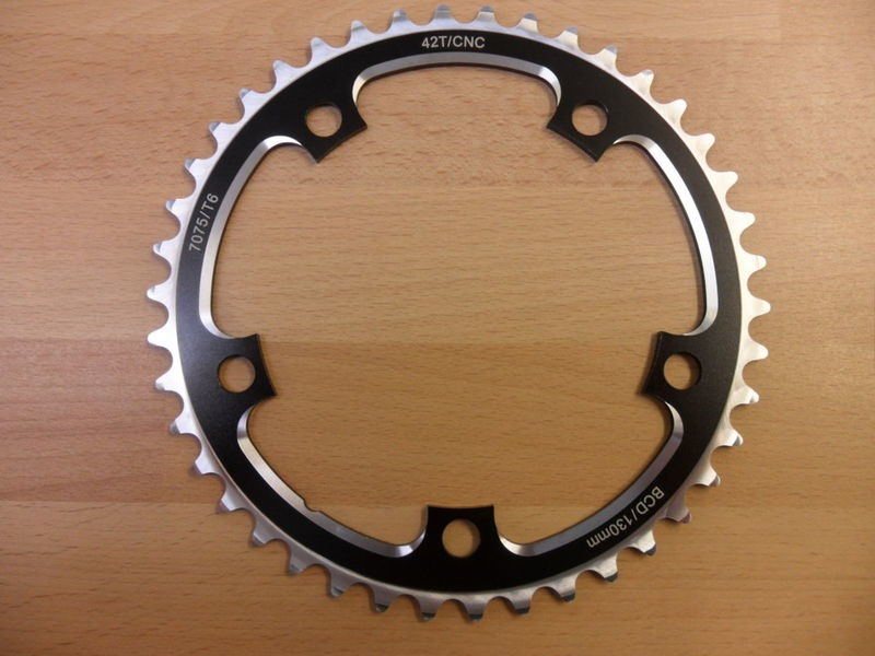 ORBIT TANDEMS 42 Tooth 130 PCD Crossover ring click to zoom image