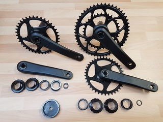 ORBIT TANDEMS Saturn tandem chainset double