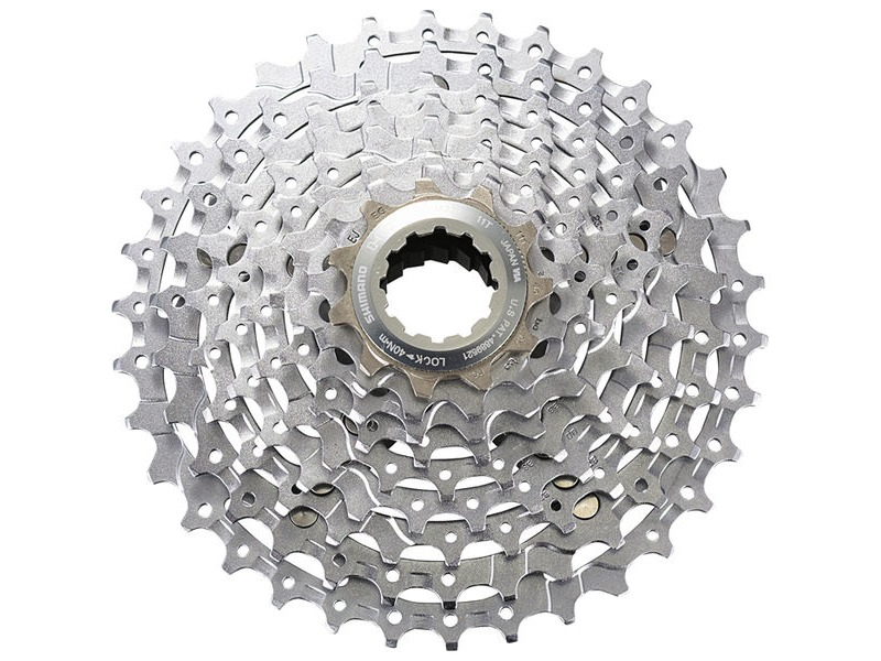 SHIMANO XT Cassette 11/34 9 speed click to zoom image