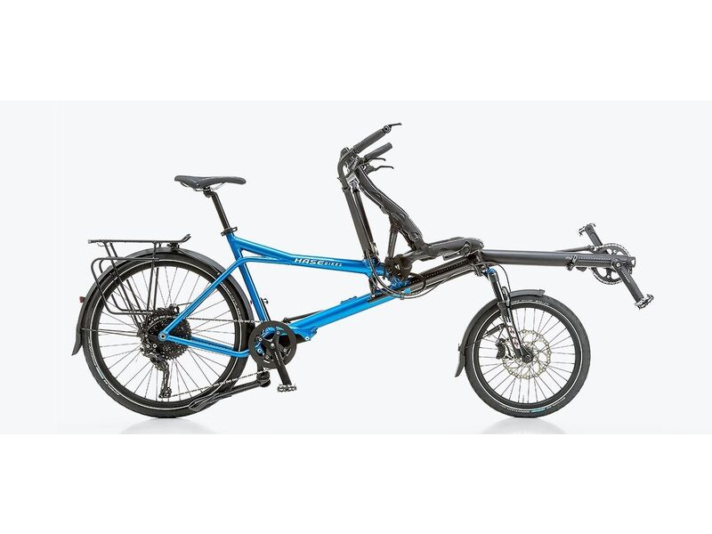 HASE Pino Allround Half Recumbent Tandem Bicycle click to zoom image