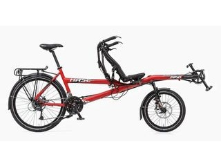 HASE Pino Allround Half Recumbent Tandem Bicycle