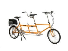 KHS T-20 Sausage Dog Folding Tandem