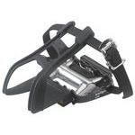 Alloy touring with toe clips & straps (+£20.00)